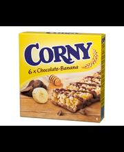 Corny 6x25g Maitosuklaa-banaani myslipatukka