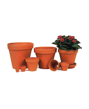 Scan-Pot saviruukku 16cm terracotta