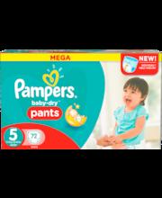 Pampers 72kpl Baby Dry Pants S5 12-18kg housuvaippa