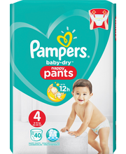Pampers 40kpl BD Pants...