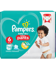Pampers 32kpl BD Pants...