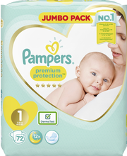 Pampers 72kpl PP New B...