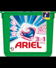 Ariel 24kpl 3in1 Pods Fresh Sensations nestemäinen pykinpesutabletti