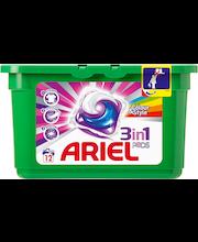Ariel 12kpl 3in1 Pods Color nestemäinen pyykinpesutabletti