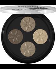 Lavera Trend Sensitiv Beautiful Mineral Eyeshadow Quattro luomiväripaletti 3,2g Cappuccino Cream 02