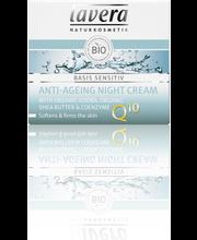 Lavera Basis Sensitiv Anti-Ageing Night Cream yövoide 50ml