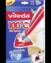 Vileda 100°C/STEAM puhdistustyyny 2 kpl