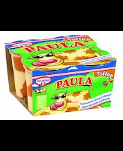 Dr. Oetker Paula 4x125g Vaniljanmakuinen vanukas ja toffeetäplät