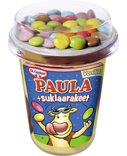 Dr. Oetker PAULA 125g Vanilja-Suklaa vanukas +suklaarakeet