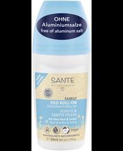 Sante Deo Roll-on luomu Aloe vera & salvia extra sensitive 50ml