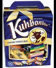 Savitor Kuhbonbon Cream Fudge Mix 650g rasia pähkinä, kerma toffee, suklaa, kerma lakritsi, mansikka lakritsi