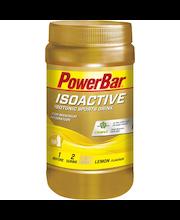 PowerBar Isoactive Isotonic Sport Drink 600g sitruuna urheilujuomajauhe