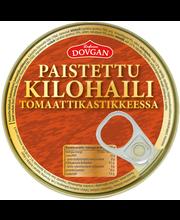 Dovgan Paistettu kilohaili tomaattikastikkeessa 240g