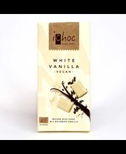 iChoc luomu valkosuklaa vanilja 80g
