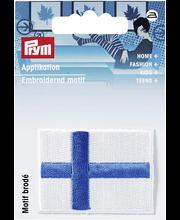 Merkki suomen lippu