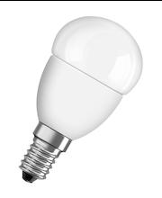OSRAM STAR led-mainoslamppu P40 6W/827 E14 himmeäkupuinen