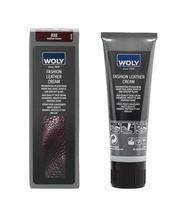 Woly Fashion Leather Cream Keskiruskea 75ml