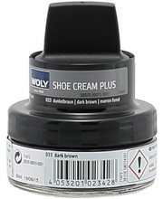 Woly Shoe Cream Plus Tummanruskea 50ml