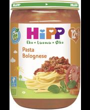 HiPP 220g Luomu Pasta Bolognese 12kk