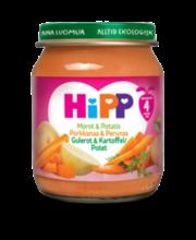 HiPP 125g Luomu Perunaa ja porkkanaa soseena 4 kk