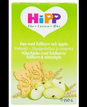HiPP Luomu 150g Keksit täysjyväviljaa ja omenaa 12 kk