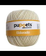 Virkkauslanka Eldorado Puppets, luonnonvalkoinen