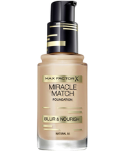 Max Factor Miracle Match Blur & Nourish Foundation meikkivoide 30 ml