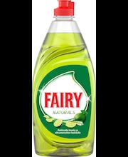 Fairy 500ml Naturals Lime & Lemongrass astianpesuaine
