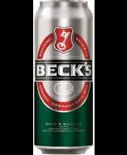 Beck´s 0,5ltr 5% olut ...