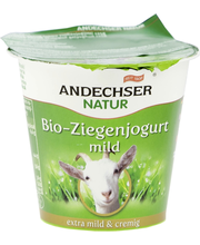 Andechser Natur Vuohenjogurtti maustamaton 125g luomu