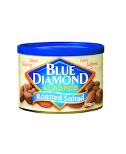Blue Diamond 150g Roasted Salted Almonds, Paahdetut suolatut mantelit