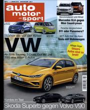 Auto Motor und Sport, aikakauslehdet