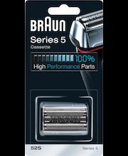 Braun 52S Combi Pack, hopea/harmaa