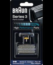 Braun 31B Combi Pack, musta