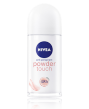 NIVEA 50ml Powder Touch Deo Roll-On antiperspirantti