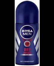 NIVEA MEN 25ml Dry Impact Deo Roll-on -antiperspirantti