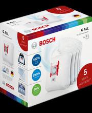 Bosch 5 vuoden lisätakuu ja  pölypussipakkaus BBZ16WGALL