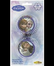 Disney Frozen 50kpl muffinssivuoka