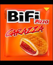 BiFi Pizza Carazza 40g Vehnäleivonnainen pyökkisavustetulla salamilla