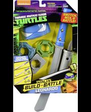 TMNT Ninja Combat Gear taisteluvarusteet, lajitelma