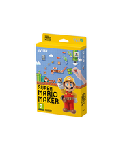 WII U Super Mario maker+artbook