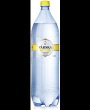 Värska  Lemon, sitruunanmakuinen mineraalivesi, hiilihapollinen 1,5L PET