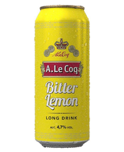 A. Le Coq 0,5L tlk Bitter Lemon Long Drink 4,7%