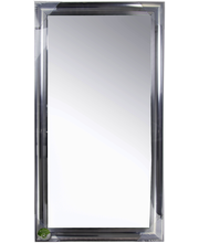 Alice peili hopea 40x80 cm