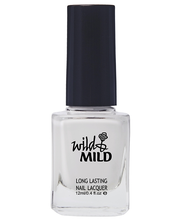 Wild&Mild Long Lasting kynsilakka Snow White 001, 12ml