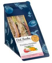 Lunden Catering 210g Kinkku-cheddar sandwich