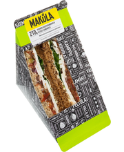Makula 210g Vuohenjuusto tomaattichutney sandwich