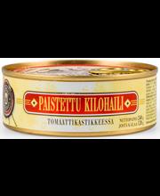 OLD RIGA Paistettu kilohaili tomaattikastikkeessa 240g/120g
