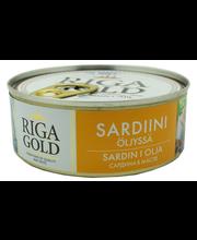 OLD RIGA Sardinellapala öljyssä 240g/168g