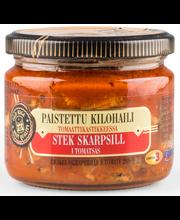 OLD RIGA Paistettu kilohaili tomaattikastikkeessa 280g/175g